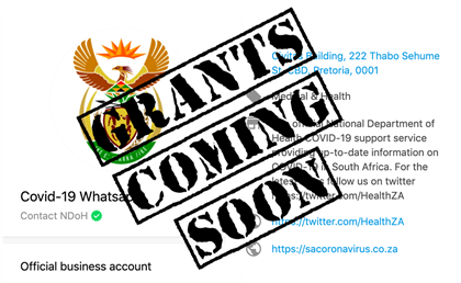 Apply for R350 unemployment grant