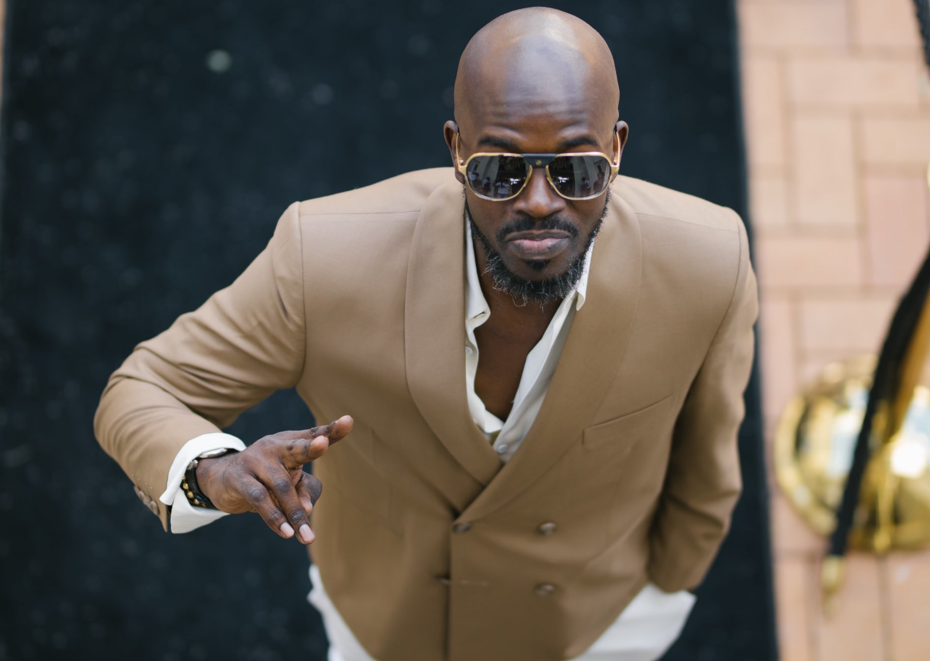 Black Coffee Shows Off His Twin brother