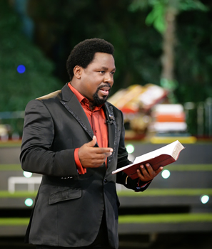 TB Joshua To Pray for COVID 19 Patients
