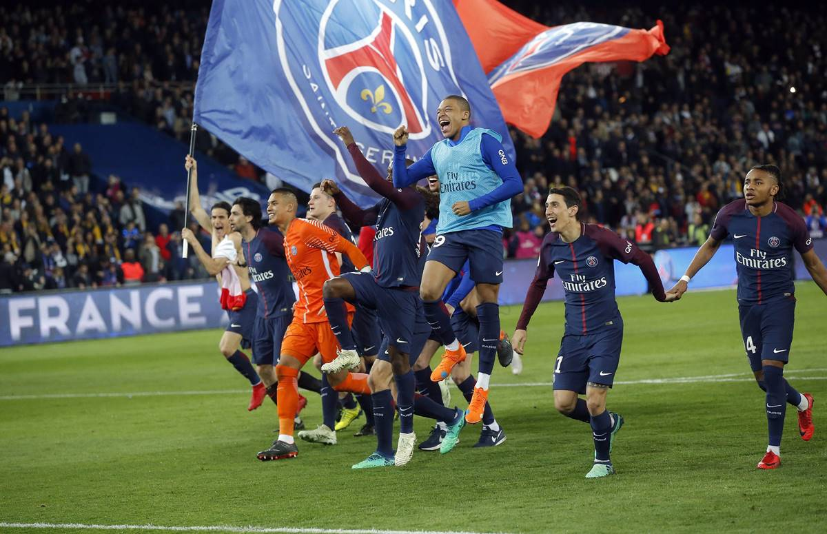 Official end for Ligue 1, PSG crowned champions