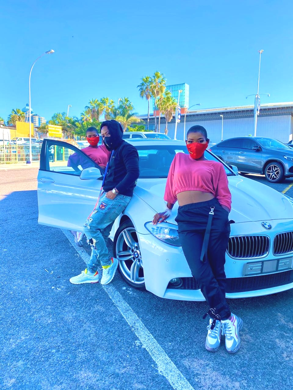Qwabe Twins Show Off New Ride