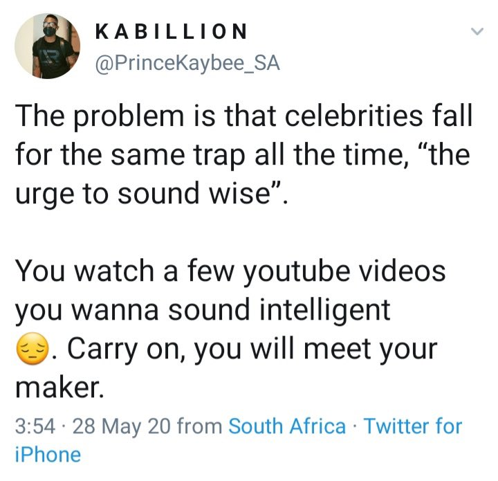 Black Coffee and Pricne Kaybee