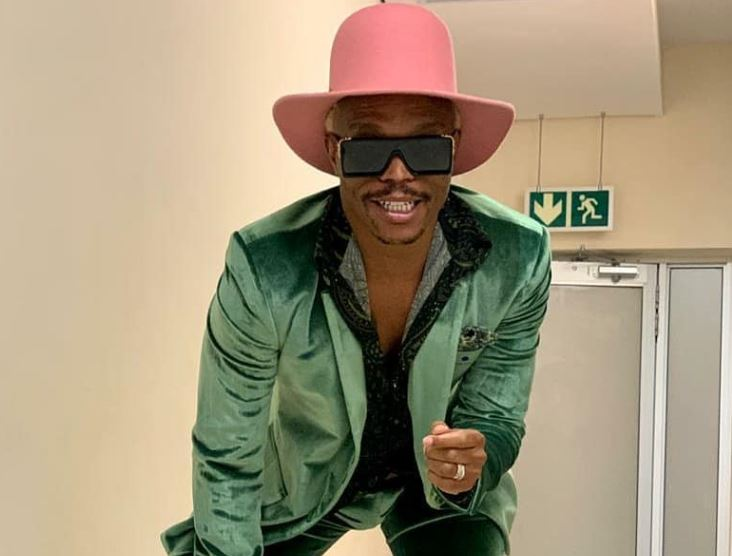 Somizi Throws Middle Finger At Critics