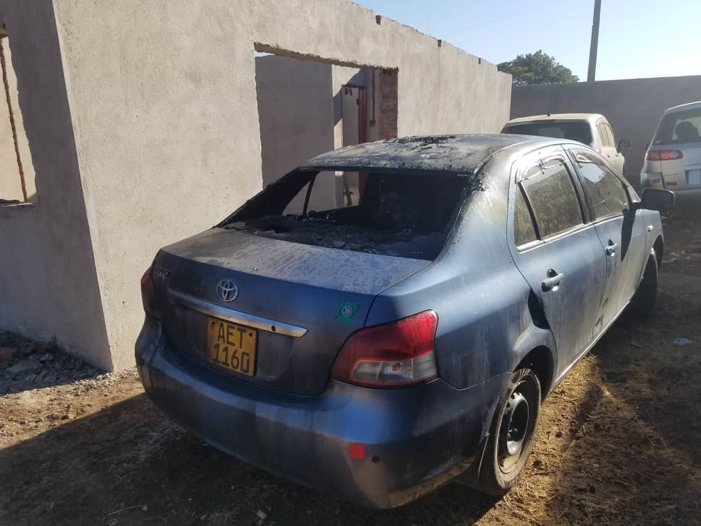 MDC Khupe Ally's Car Petrol Bombed