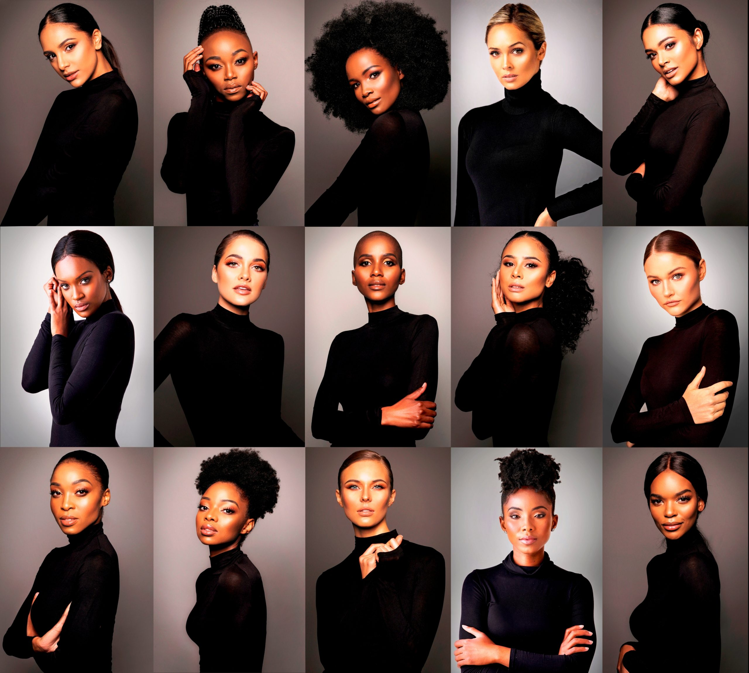 miss south africa top 15 semi-finalists