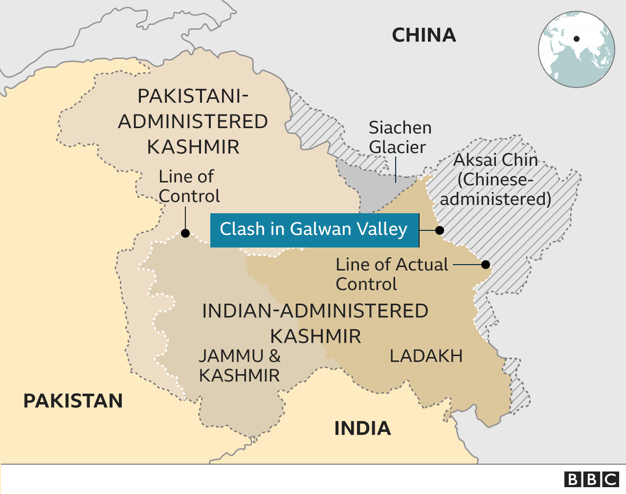 India And China In Violent Border Clashes