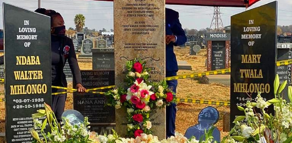 Mary Twala's final resting place