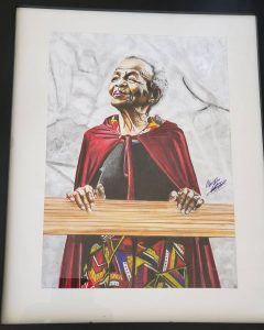 Somizi Buys A Painting Of His Mother From A Twitter User
