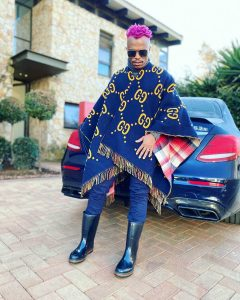 Somizi Blesses Lucky Follower With His Old Clothes & Shoes