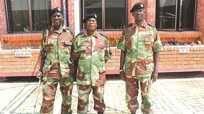Mnangagwa Promotes Four Army Colonels