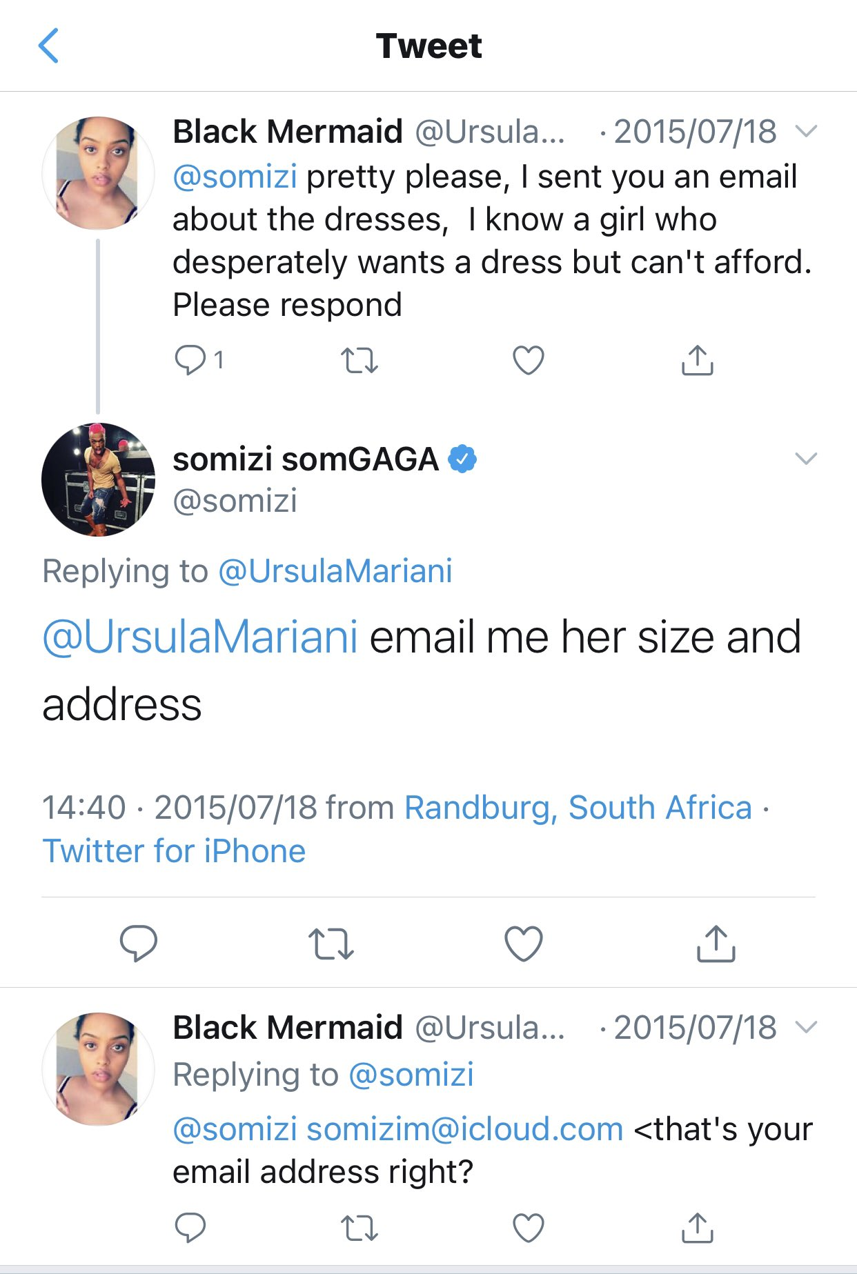 Somizi Caught Lying About Not Using Email For 5 Years4
