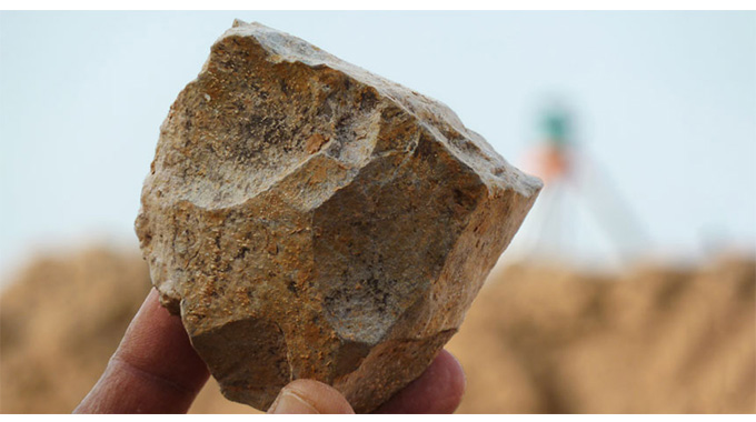 Drama As Jilted Granny Pelts Young Ex-lover With Stones