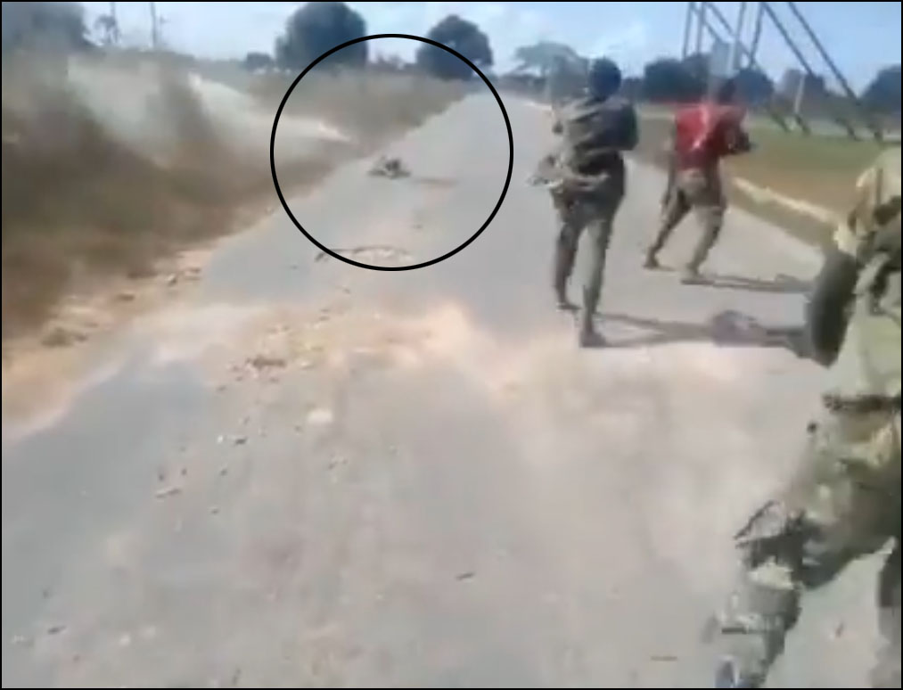 Mozambique Army Executing A Naked Woman On A Video Finally Identified