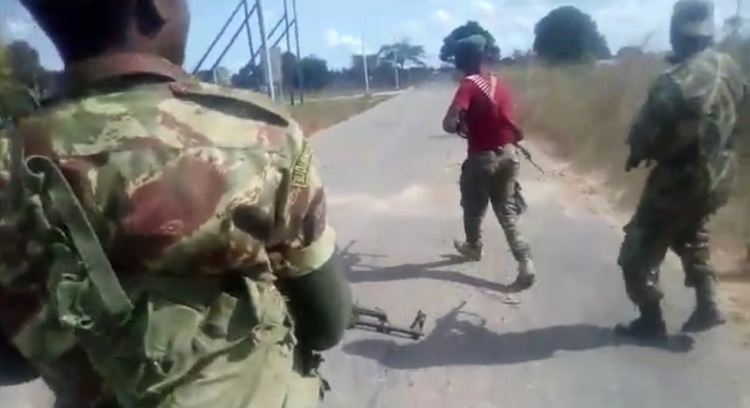 Mozambique Army Executing A Naked Woman On A Video Finally Identified1