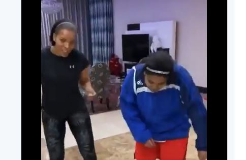 WATCH : The Queen's Connie Ferguson Dancing To Amapiano - iharare.com