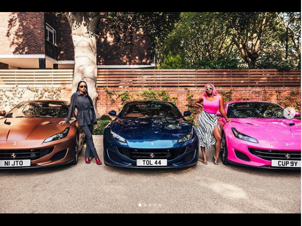 Nigerian Billionaire Breaks The Internet After Buying His Daughters 3 Expensive Ferraris - iharare.com