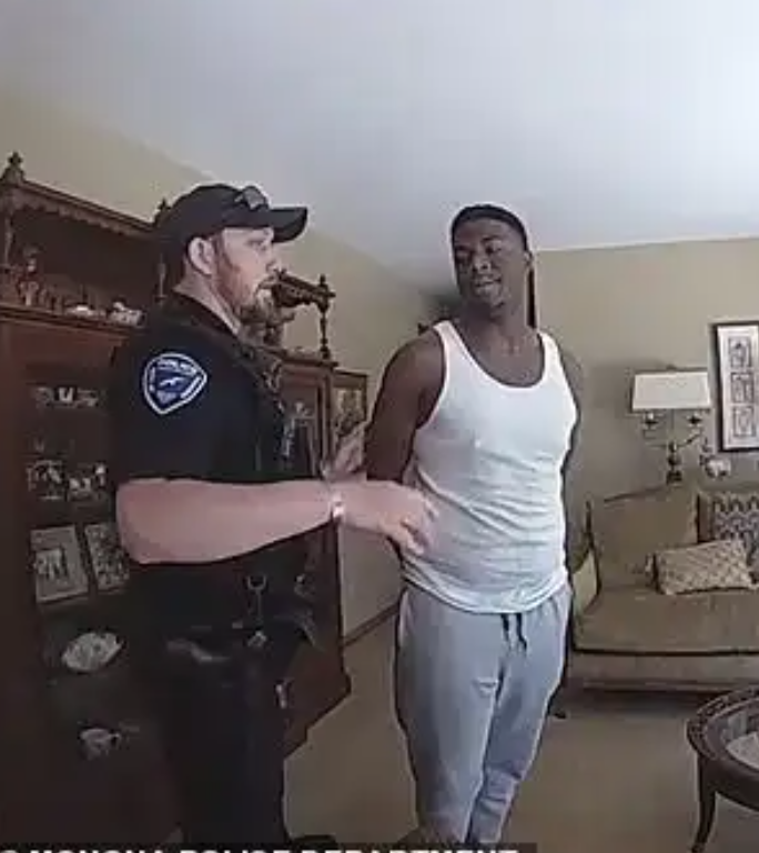 Black Man Arrested