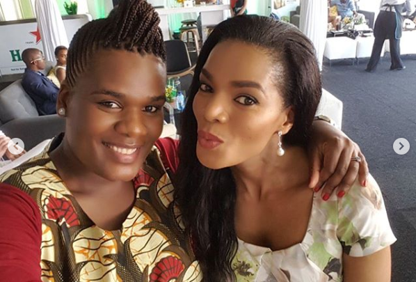 Connie Ferguson's Parents And Sister Are Family Goals