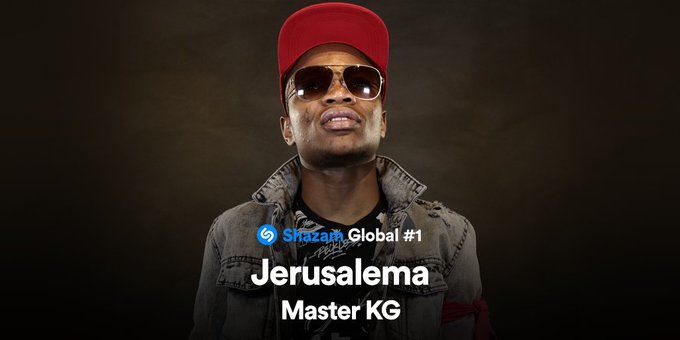 Master KG's Jerusalema Now Global Number 1 Song On Shazam