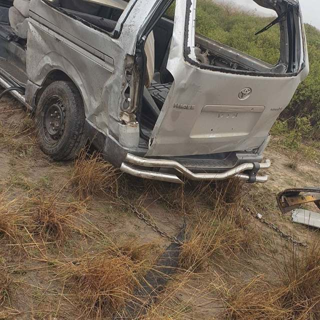 Terry Afrika accident pictures