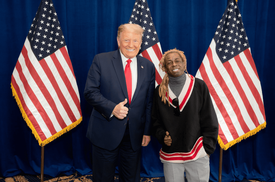 Lil Wayne Shows Donald Trump Support After Meeting At White House