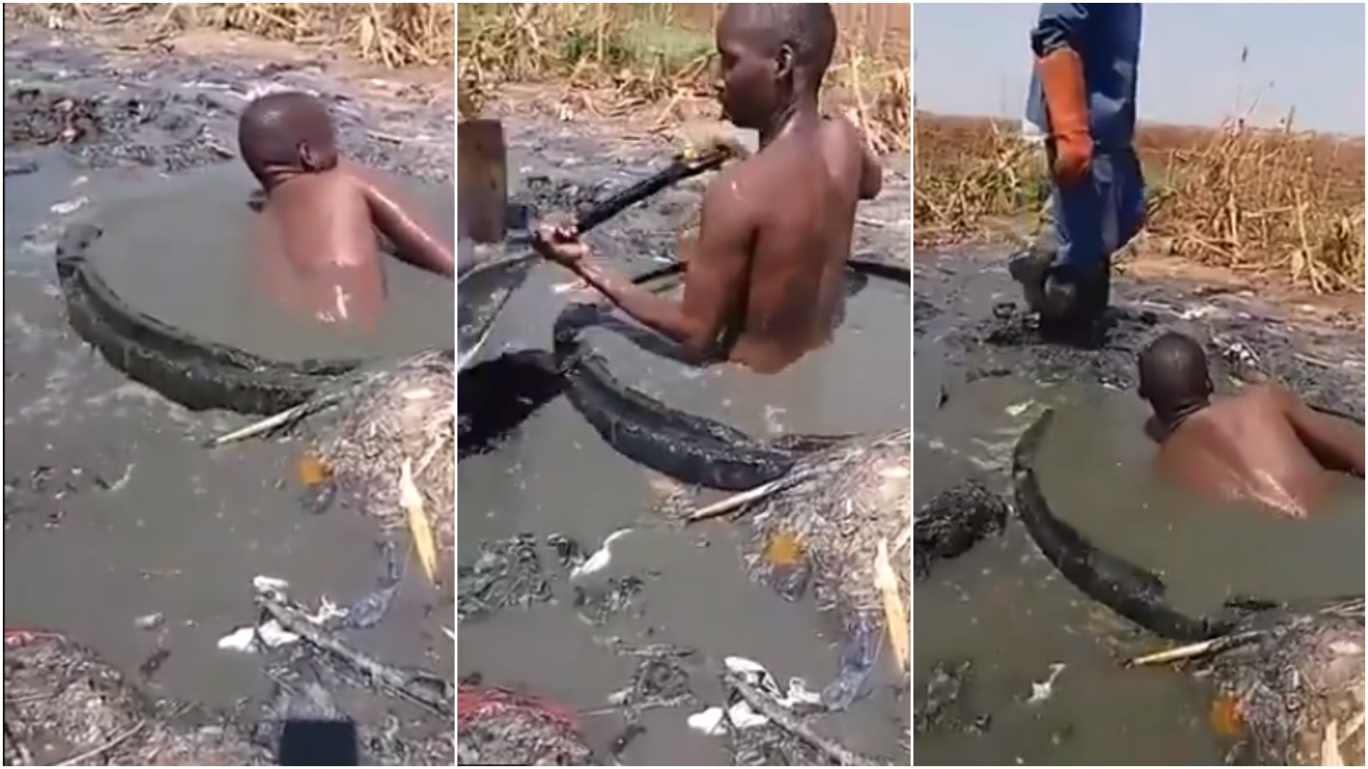 How Zimbabwe Council Workers Are Clearing Blocked Sewage
