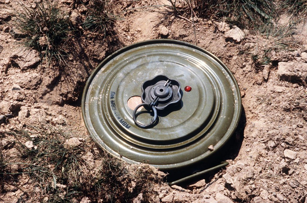 Epileptic Boy Murdered: Land mines discovered in Victoria falls