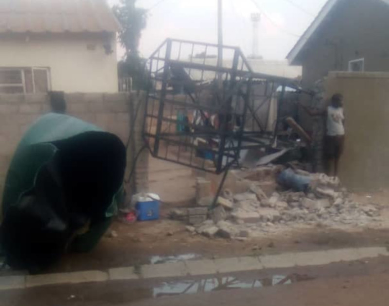 Water Stand Collapses And Kills 2 Neighbours' Children In Chitungwiza