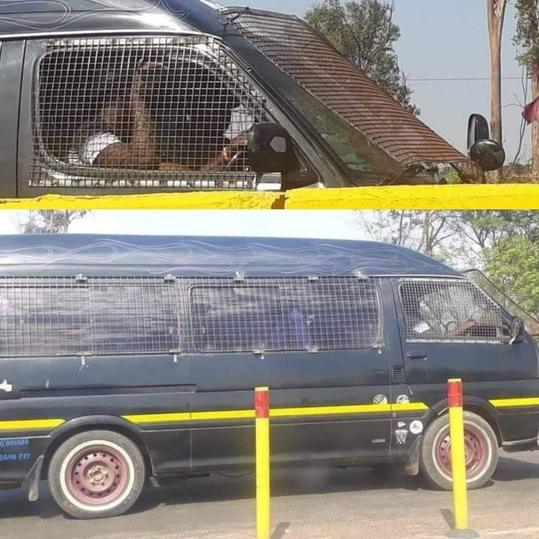 Picture Of Armored Kombi Goes Viral.