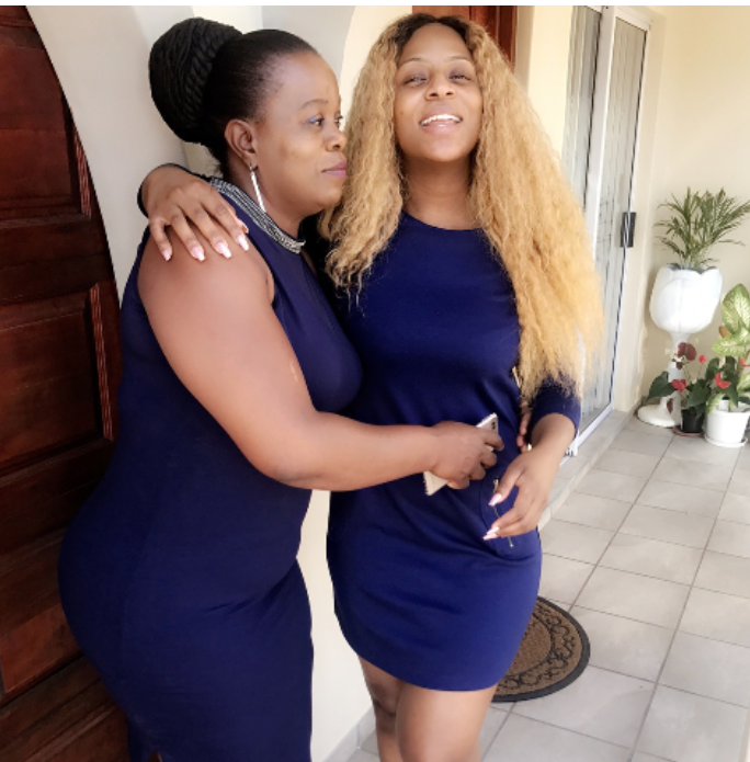 Jessica Nkosi The Queen And Her Mom