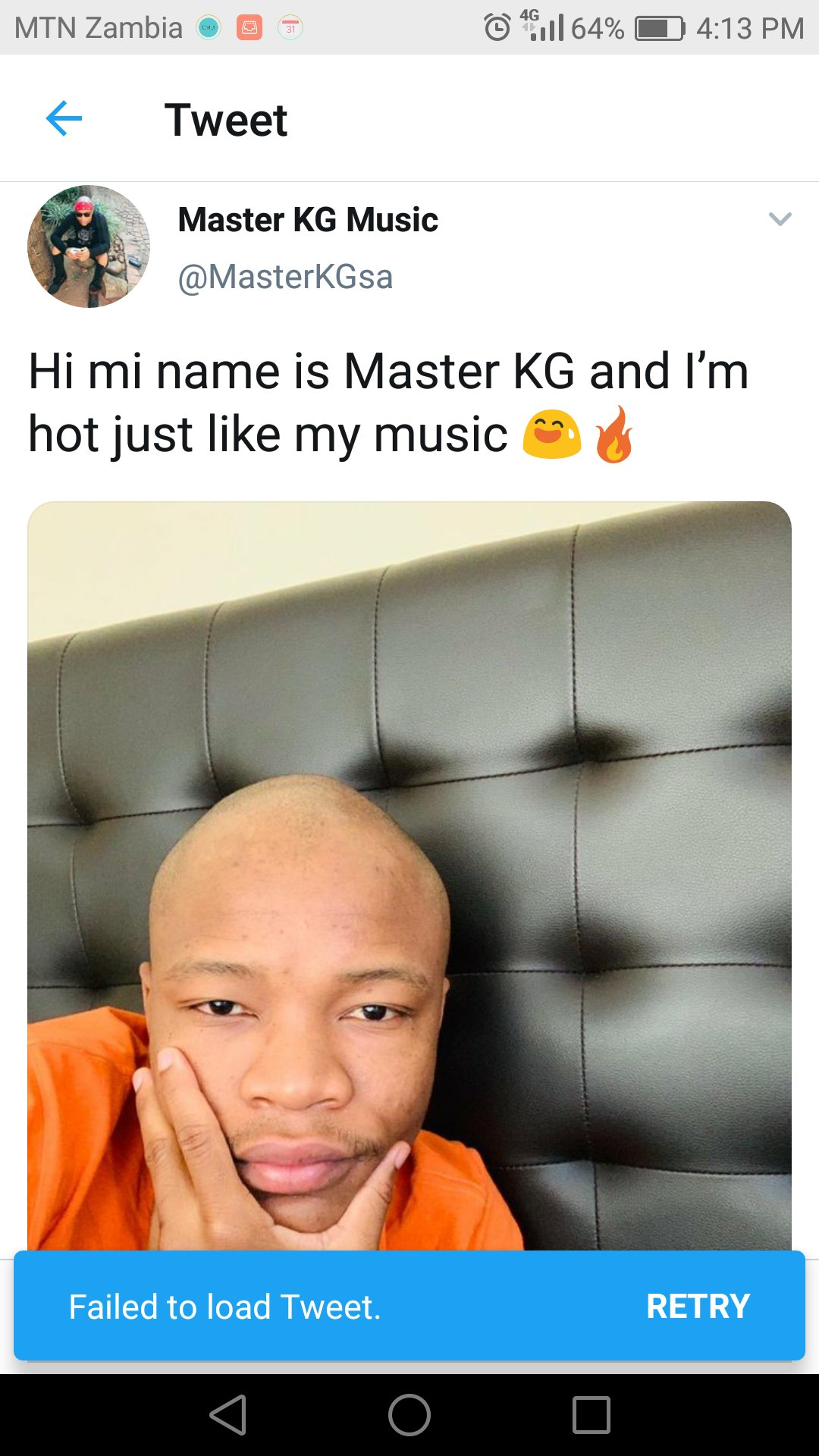 Master KG Forced To Delete Controversial Posts