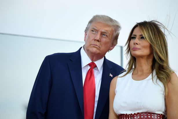 Melania Trump Rubbishes Claim That She Is Divorcing President Donald Trump