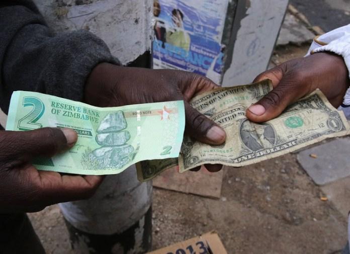 Zimbabwe forex black market