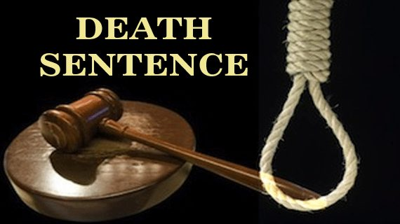 Two men sentenced to death for killing a taxi driver