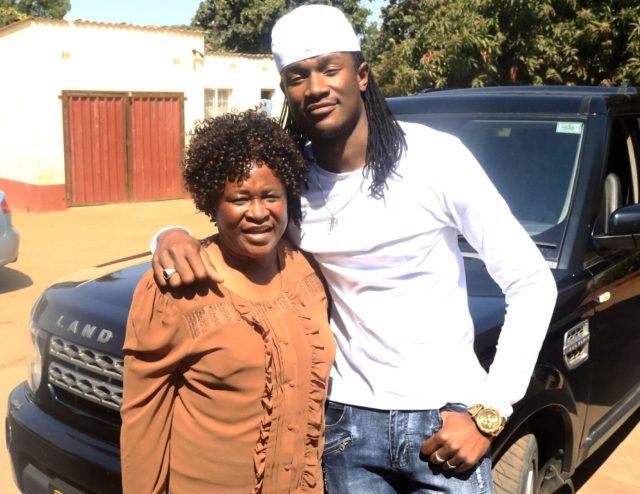 Jah Prayzah and Mother