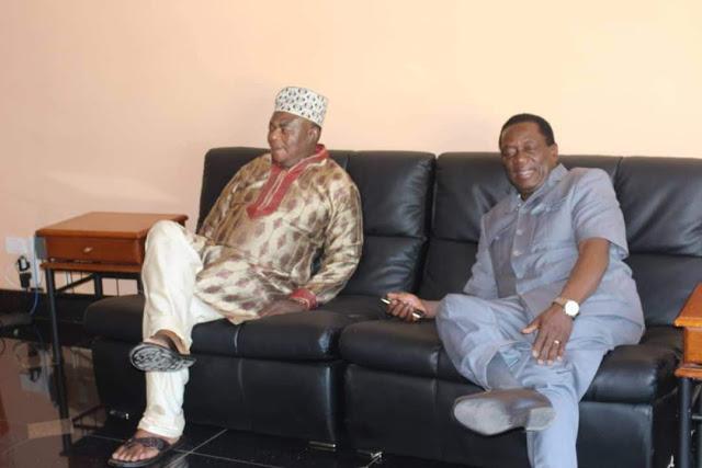 Vice President Chiwenga, President Emmerson Mnangagwa
