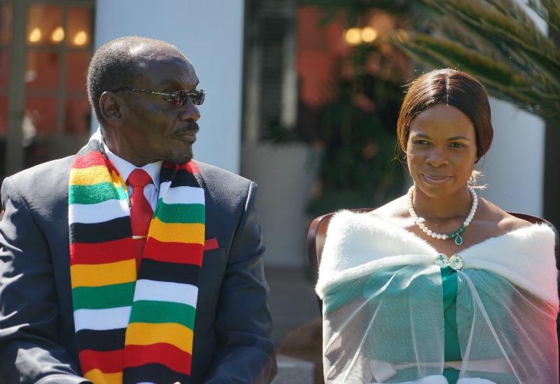 VP Kembo Mohadi & His New Wife Juliet Mutavhatsindi