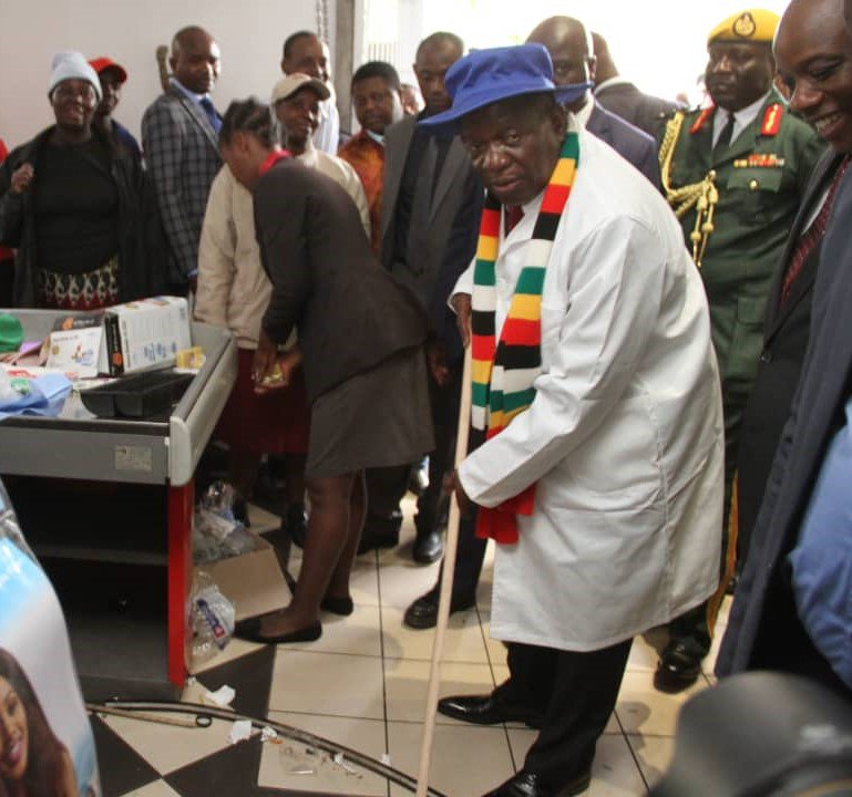 Nelson Chamisa To Join Mnangagwa's Clean-Up Campaign