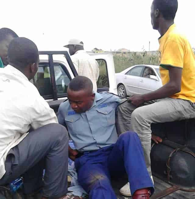 two police officers arrested for stealing cattle