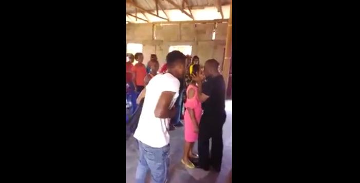Image result for pastor kissing cogregant
