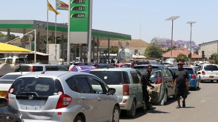 fuel queues- iHarare