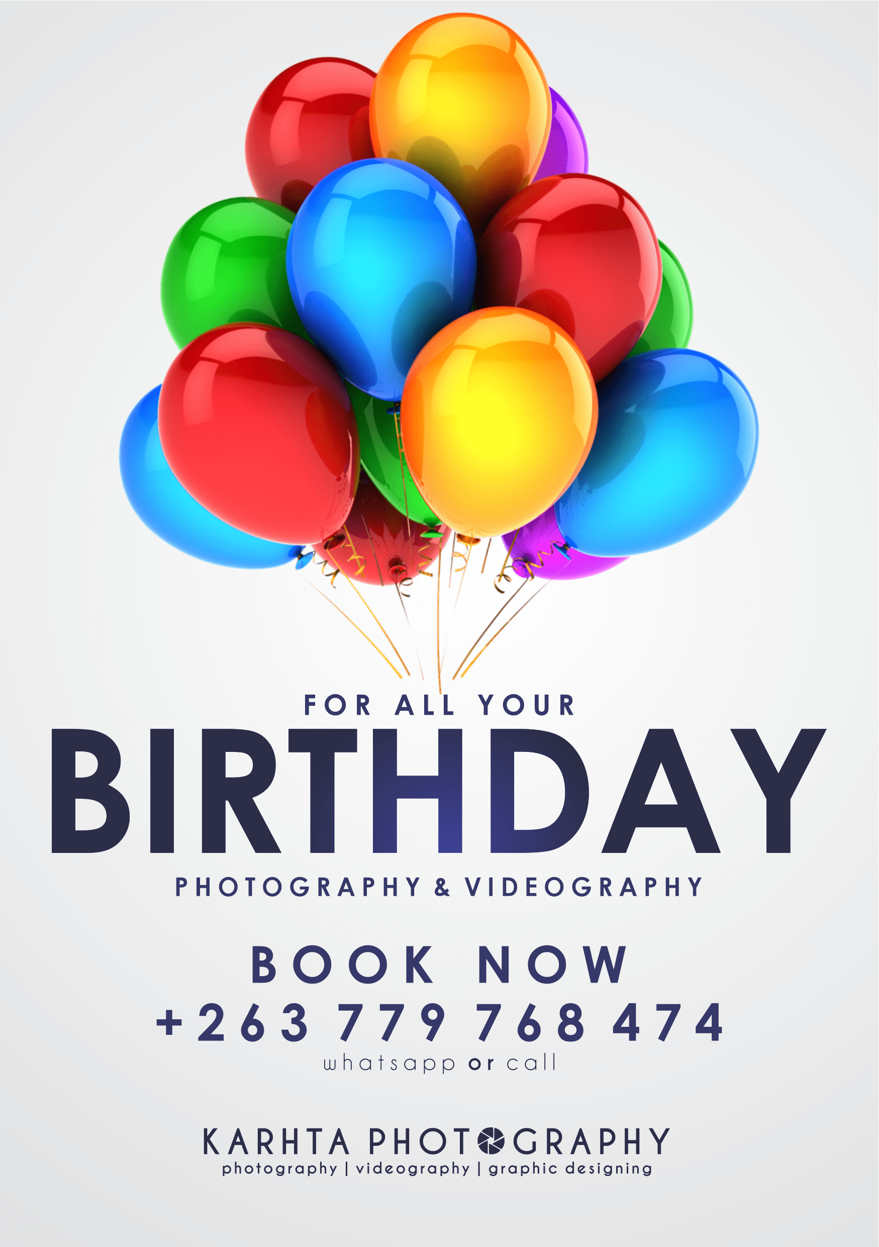 KT Photography Birthday Banner