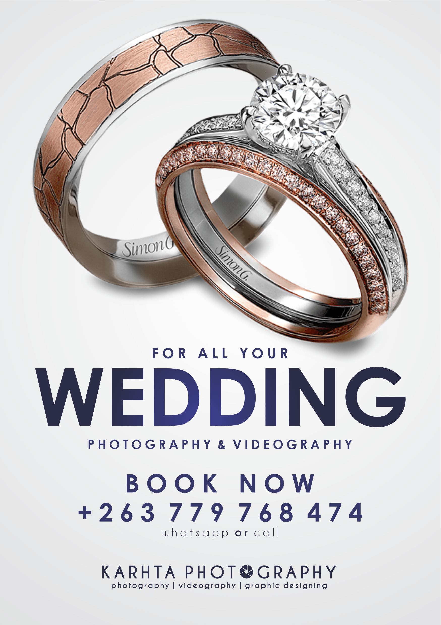 KT Photography Wedding Banner