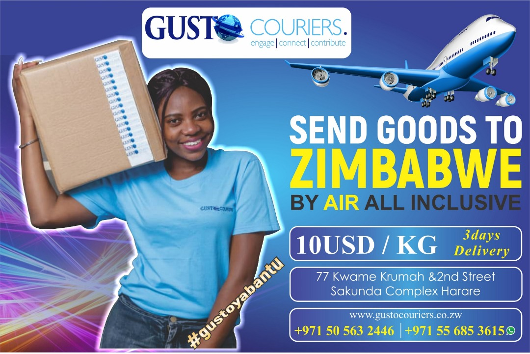 Gusto Couriers banner