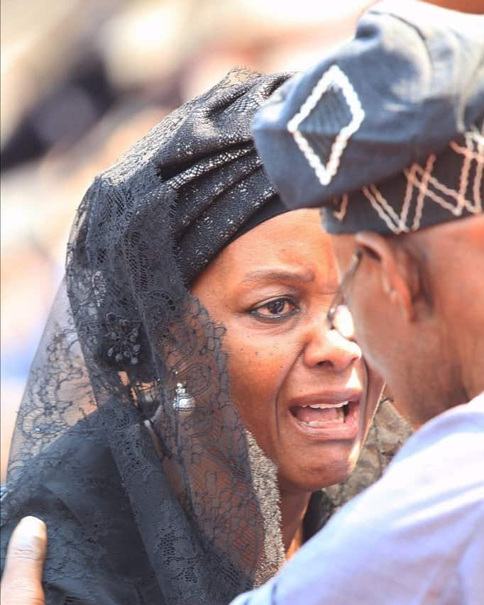 Grace Mugabe Dumps Blue Roof For Zvimba