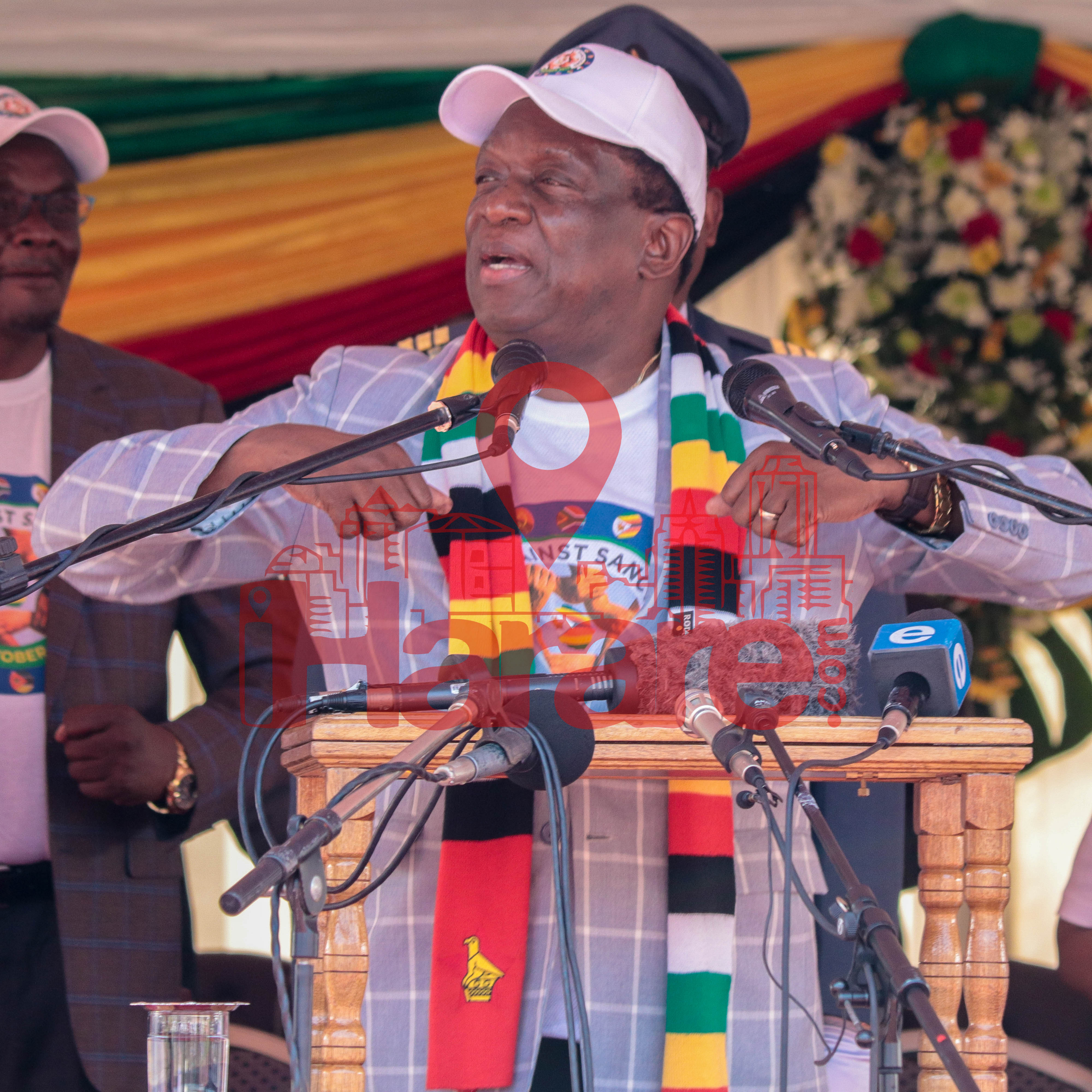 Mnangagwa's Driver Steals Boss' Phone