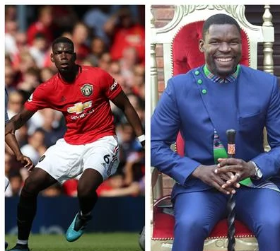 Paul Pogba's twin