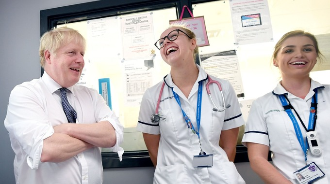 Boris Johnson To Fast Track Visa For Nurse & Doctors