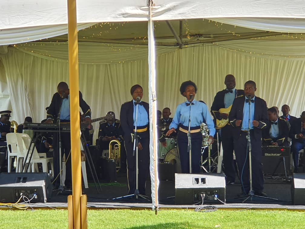 Police Band at National Day of Prayer At State House