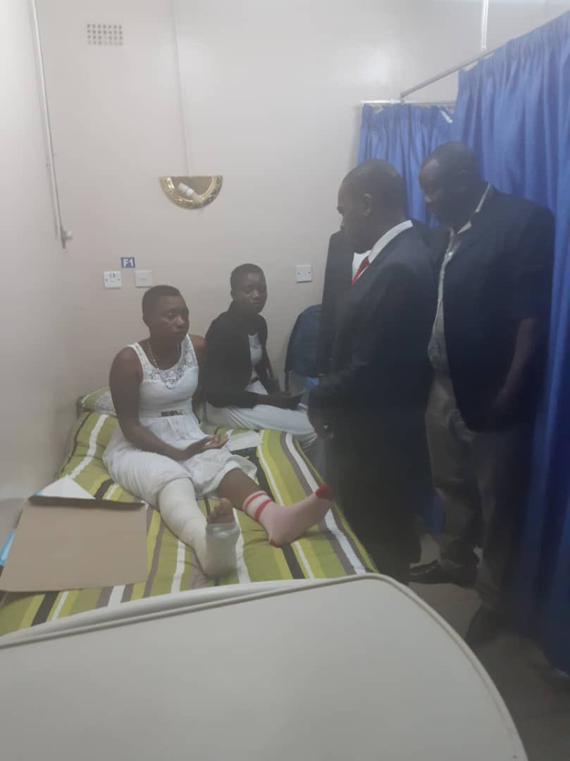 Chamisa shows compassion to injured victims of police brutality